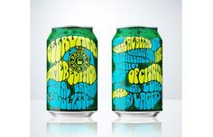Brutal Brewing developed a limited edition summer beer with packaging reminiscent of the 1960s.