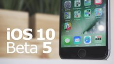 #Apple ready #iOS 10 Beta 5 to developers for #apple #app #developer. Here are top 9 iOS 10 features coming to your iPhone and iPad this fall.