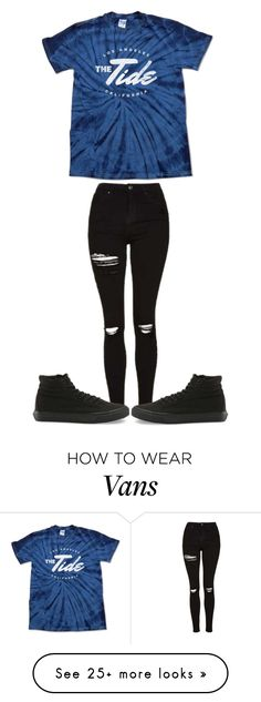""""""" (idk what this is but it matches the outfit)"""" by sydthekyd01 on Polyvore featuring Topshop and Vans"""