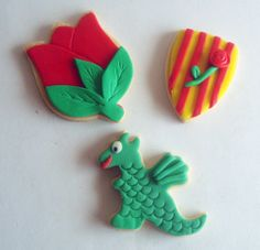 galletas de Sant Jordi para talleres infantiles https://www.facebook.com/Monsucre
