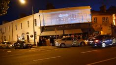 Heineken, Rugby World Cup 2015 FIREFLY light projection on The Bridge Bar, Dublin