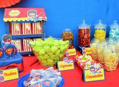 Superman Party: El Scrap de Cris y Noe
