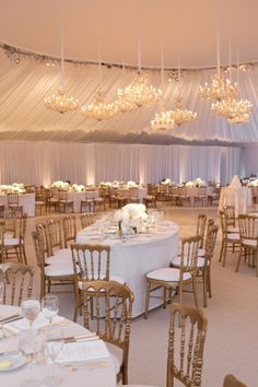 a tented reception space in Chicago Photography by Aaron Delesie Photographer / aarondelesie.com, Event Planning by Birch Design Studio / birchdesignstudio.com, Floral Design by Kehoe Designs / kehoedesigns.com/