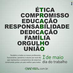 1o. DE MAIO - DIA DO TRABALHO