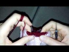 Tunus işi bebek yelek kenar tığlama 5. BÖLÜM - YouTube