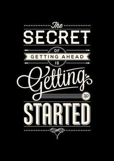 #gettingahead, #gettingstarted, #typography  http://www.tomritskes.nl/