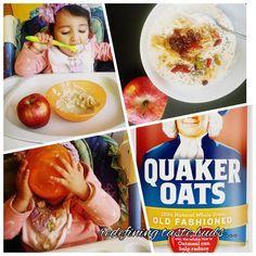 Apple Oats healthy breakfast