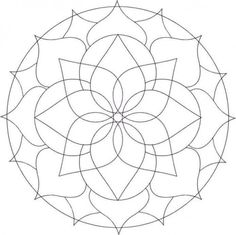 Free Mandalas Design to Color