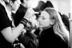 Behind the scenes at the SS14 LUBLU Kira Plastinina fashion show.