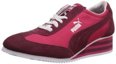 147b05843360 PUMA Women s Caroline Stripe Wedge Sneaker