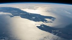 NZ sky glint from ISS
