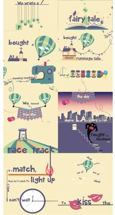 Moving Typography by Ja Kyung PARK, via Behance