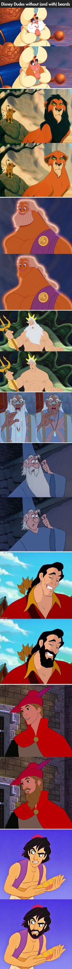 disney men with beards