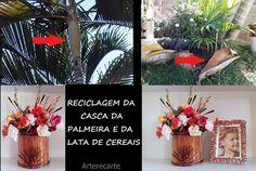 Reciclagem de casca de Palmeira...