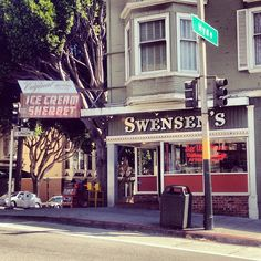 Swensen's Ice Cream in San Francisco, CA - Best Flavor: Vanilla