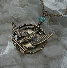 The Hunger Games Token Necklace #Mockingjay