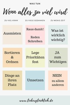 Das Chaos in Kopf und Wohnung ordnen. Organize the chaos in your head and apartment. Best Friend Poems, Psychology Symbol, Energie Positive, New Beginning Quotes, Friendship Day Quotes, Anti Stress, Strong Quotes, Positive Life, Priorities