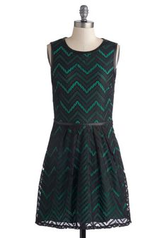 Teal Tide Dress, #ModCloth