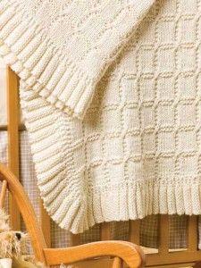 yünden bebek battaniyesi