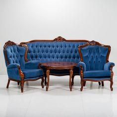 Sohvaryhmä, rokokootyyliset. Love Seat, Couch, Furniture, Home Decor, Settee, Decoration Home, Sofa, Room Decor, Home Furnishings