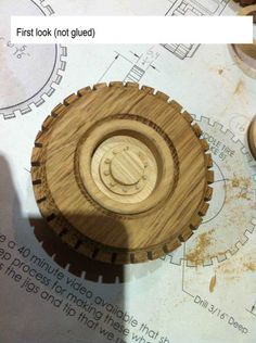 Wooden toys wheel making #6: Rims part 2