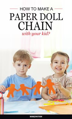 How To Make A Paper Doll Chain With Your Kid?