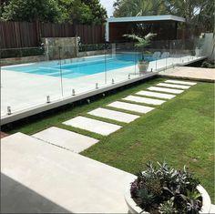 Fence Around Pool . Fence Around Pool . Backyard Pool Landscaping, Backyard Pool Designs, Small Backyard Pools, Swimming Pools Backyard, Large Backyard, Backyard Fences, Swimming Pool Designs, Landscaping Ideas, Backyard Beach