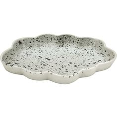LIV Interior Cloud Tray in SPLASH, black/white ($22) ❤ liked on Polyvore featuring home, home decor, small item storage, black and white home accessories, black and white home decor, black and white tray, ceramic home decor and ceramic tray