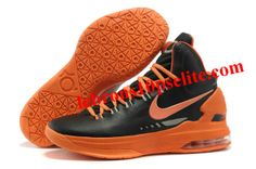 new product 2bf5f 0c950 Nike Zoom KD V Black Orange Kevin Durant Sneakers, Kevin Durant Basketball  Shoes,