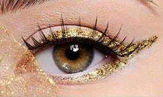 Olhar dourado #make #maquiagem