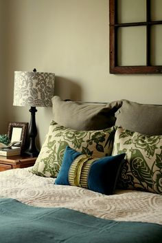 great bedding LOVE the green and turquoise