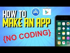 How to Create an App Without Coding 2019 (Mobile Game App Developing) - Free Things Application Development, Mobile Application, App Development, Make Your Own Game, Build An App, Android Developer, Game App, Mobile Game, Best Games
