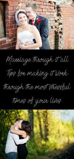 Marriage through stress