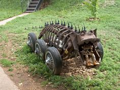 Swetsville zoo - Fort Collins, Colorado - folk art,  welded sculpture park