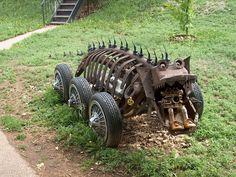 Swetsville zoo - Fort Collins, Colorado - folk art,  welded sculpture park