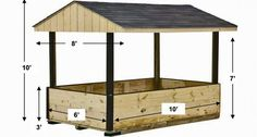 Hay Feeder for Horses | Covered Hay Feeder | Horizon Structures