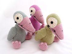 Jazz Crow, free crochet pattern by Anu Koski