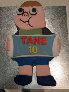 Clarence The Cartoon Birthday Cake Georgie Cumplea 241 Os