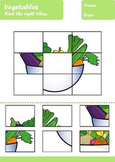 Vegetables Worksheets Age by Elena Dincheva Preschool Learning Activities, Preschool Worksheets, Teaching Kids, Activities For Kids, Mazes For Kids Printable, Classroom Fun, Elementary Education, Pre School, Vegetables