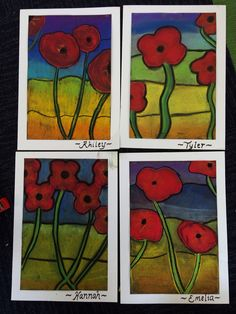 Chalk pastel ANZAC poppies Remembrance Day Activities, Remembrance Day Art, Anzac Poppy, 4th Grade Art, Grade 3, Ww1 Art, Back To School Art, Art Activities, Holiday Activities