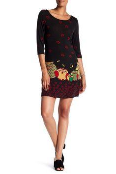 d714474cf240 Owl Detail Dress by Papillon on @HauteLook Knit Dress, Owl, Animal, Free