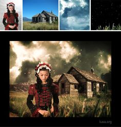 Photoshop Composition, combining images