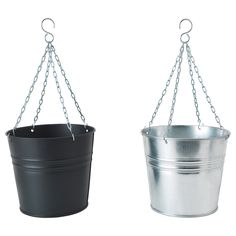 HÖSTÖ Hanging planter - IKEA - $4.99 - Love these for outside on the porch