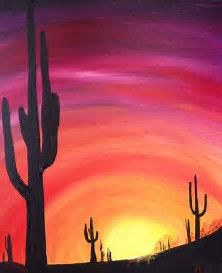 Image result for silhouette paintings on canvas