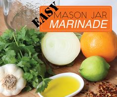 Easy Mason Jar Marinade Plus Win An Electrolux Stick Mixer To Make It With Mixer, Cantaloupe, Mason Jars, Salads, Yummy Food, Fruit, Cooking, Breakfast, Easy
