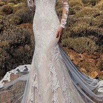 A-line dress with colorful embroidered flowers ,evening dress,short homecoming dress sold by shuiruyandresses on Storenvy Long Sleeve Bridal Dresses, Sexy Wedding Dresses, Lace Evening Dresses, Wedding Dress Sleeves, Elegant Wedding Dress, Dress Lace, Prom Dress, Lace Sleeves, Formal Dress
