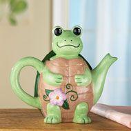 Happy Turtle Teapot - 38889