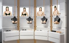 Image result for lingerie store interior design