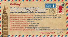 Ganadores de los V Premios Anuales de #Marketing organizados por el Club de #Marketing de #Malaga y celebrados el 30 de octubre de 2013.