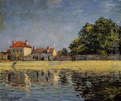 Banks of the Loing, Saint-Mammes Alfred Sisley | Oil
